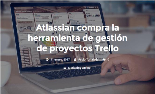 Atlassian compra la herramienta de gestión de proyectos Trello